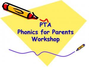 Phonics for Parents Workshop