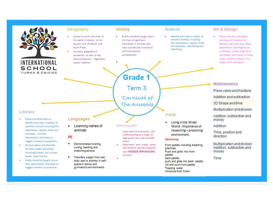 Grade 1 Term 3 Topic Overview