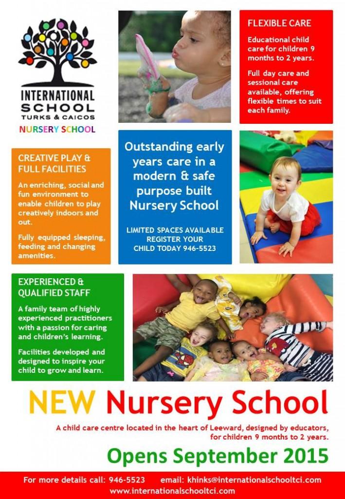 International School Nursery Flyer