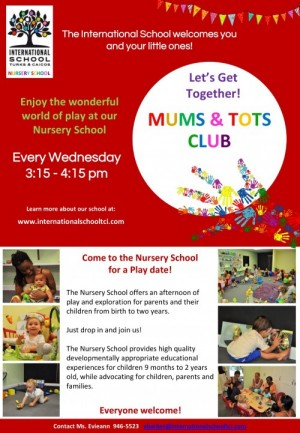 Mums and Tots at Nursery School of International School