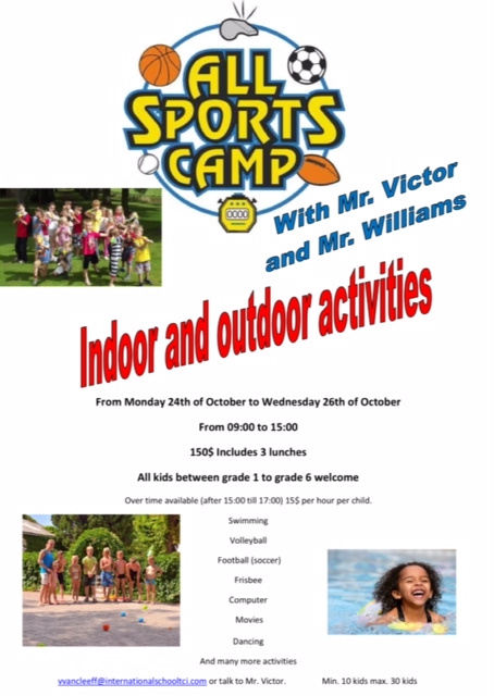 ISTCI Sports Camp