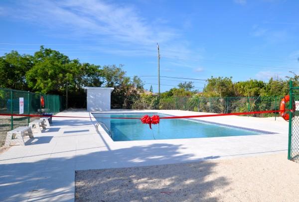 International School of the TCI Swimming Pool