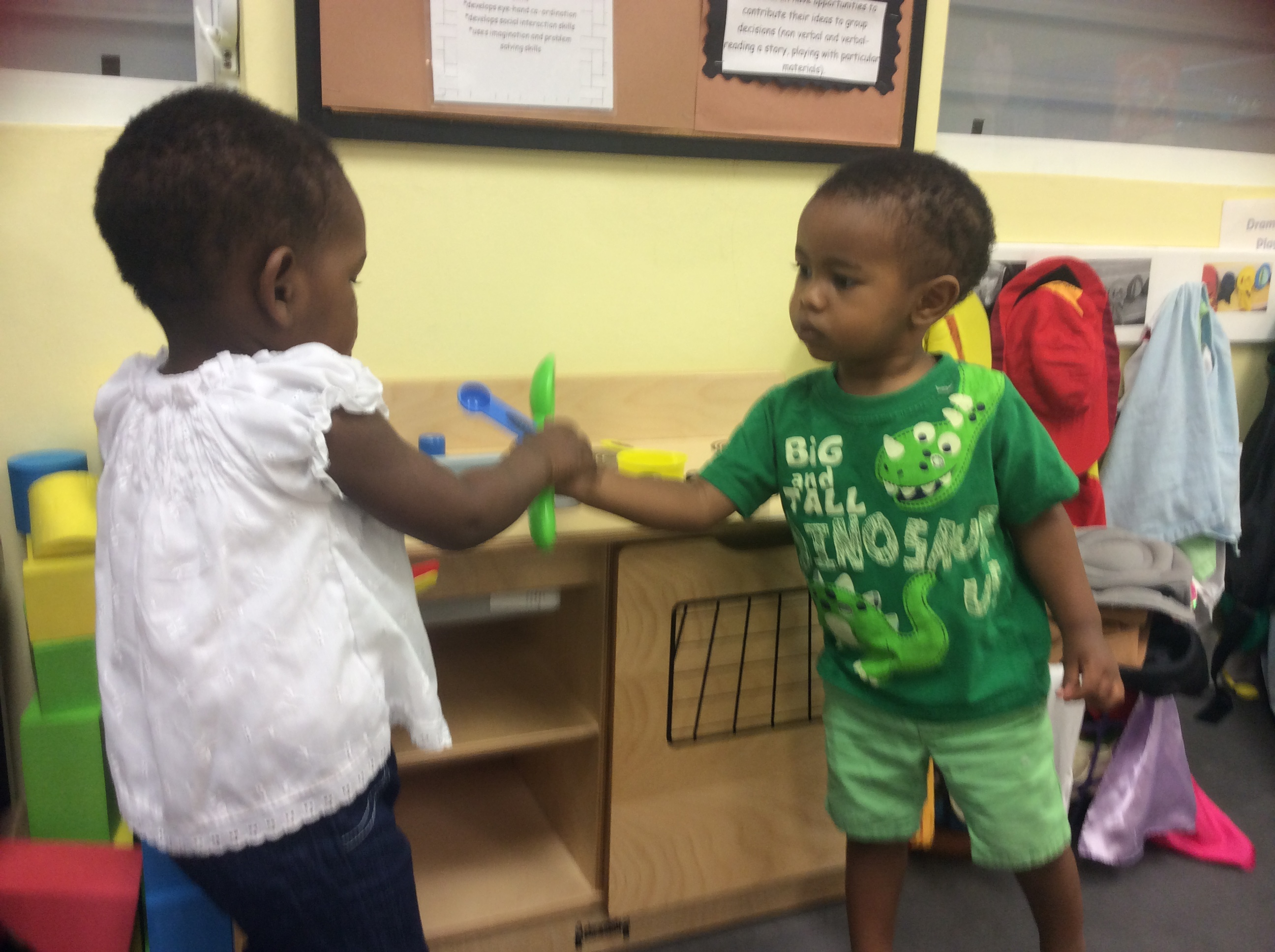 Teaching Self Help Skills In Nursery