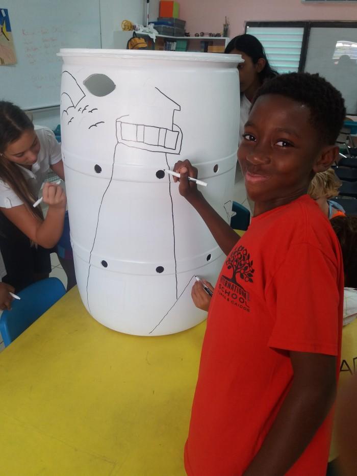 TCI Shines Schools' Big Bin Competition