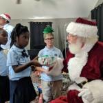 Helping Santa in the TCI