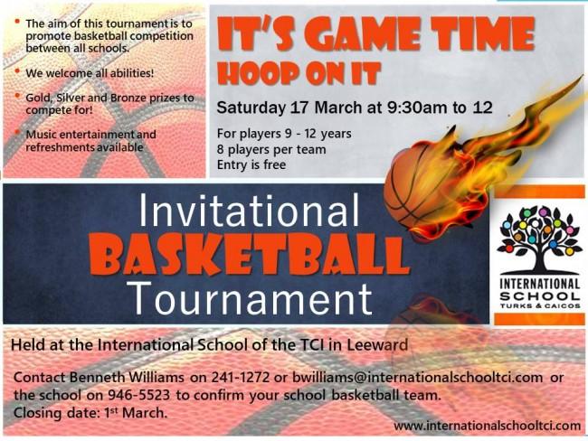 ISTCI Invitational Basketball Tournament 17 March