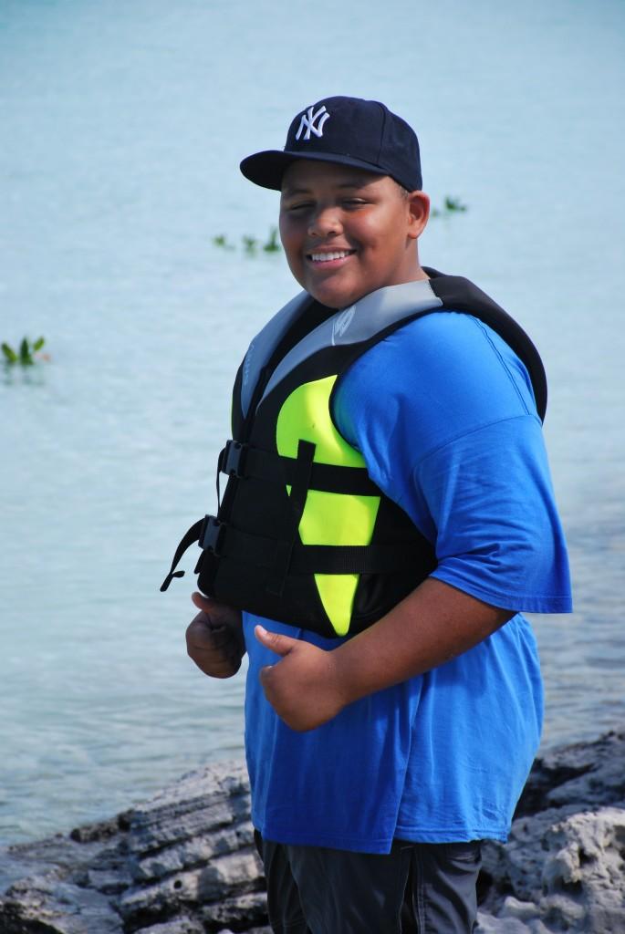 Students enjoyed the kayaking adventure across the mangroves