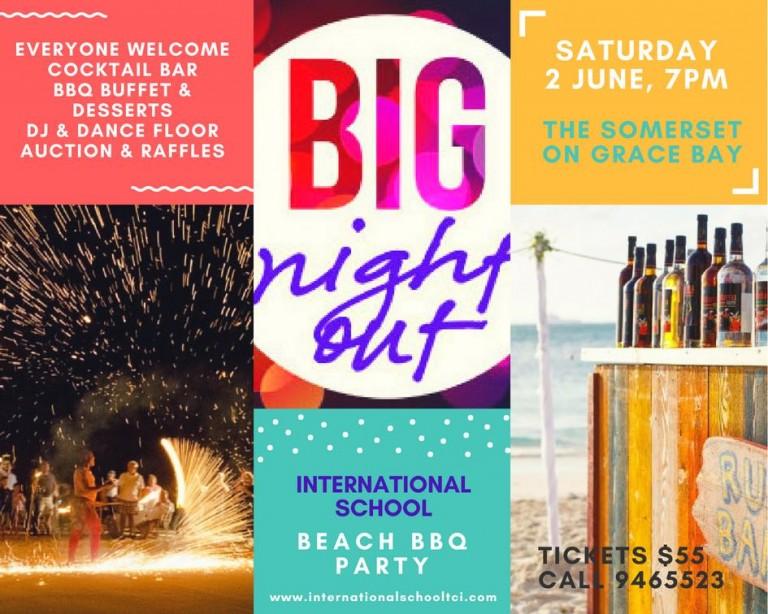 BIG NIGHT OUT ISTCI BEACH BBQ