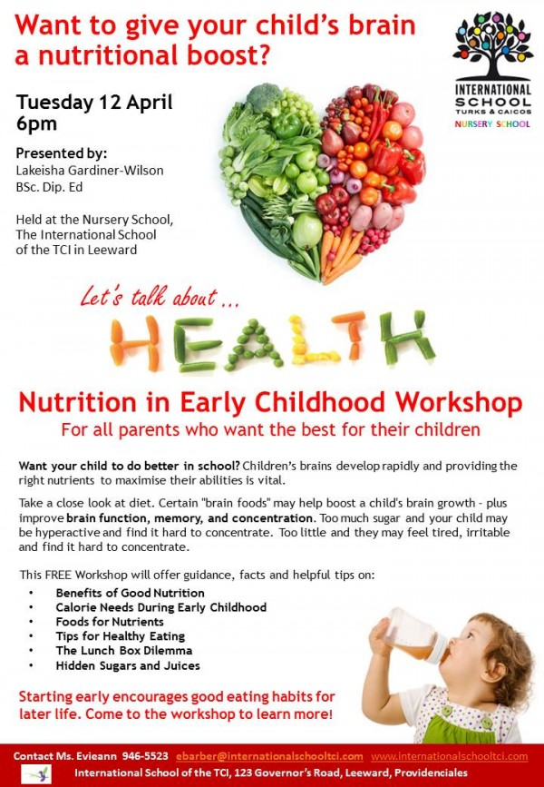 Nutrition-in-Early-Childhood-Workshop-April-12th-at-6pm-Nursery-School-ISTCI-with-Lakeisha-Wilson-e1459956896863