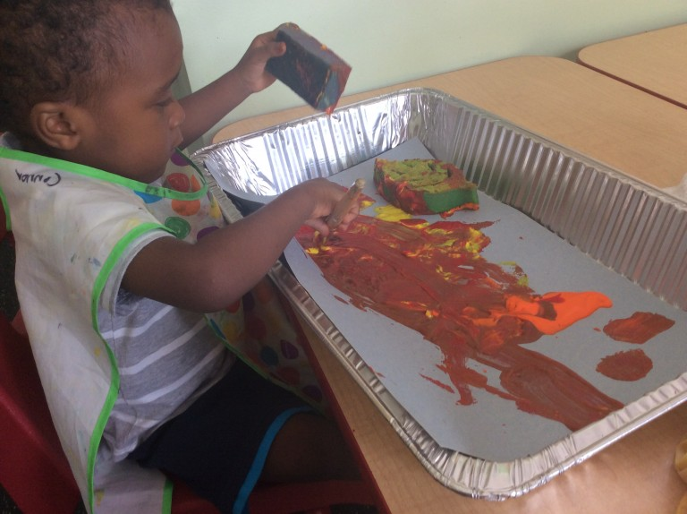 Painting play