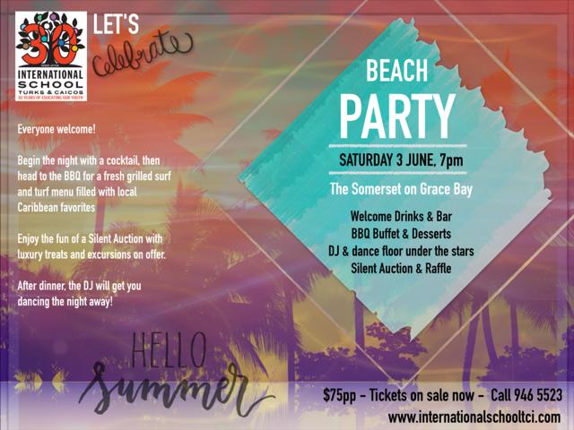 International School Beach Party