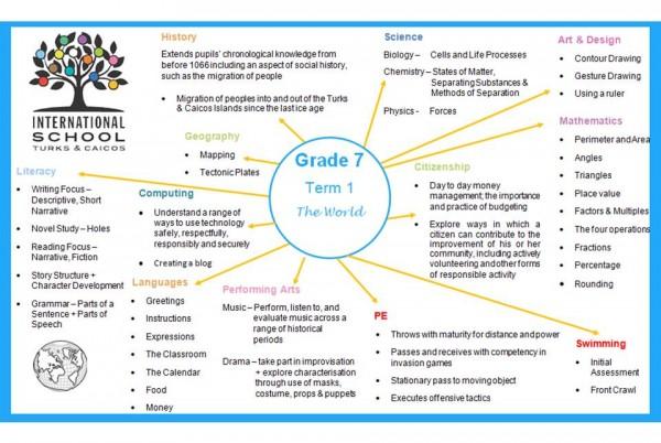 Grade 7 Topic Term 1
