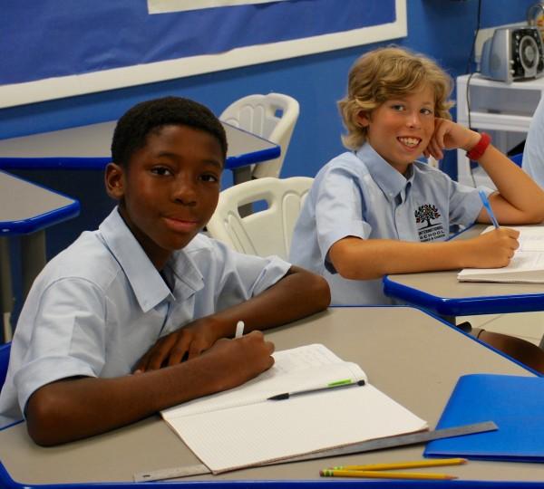 Grade 7 at International School