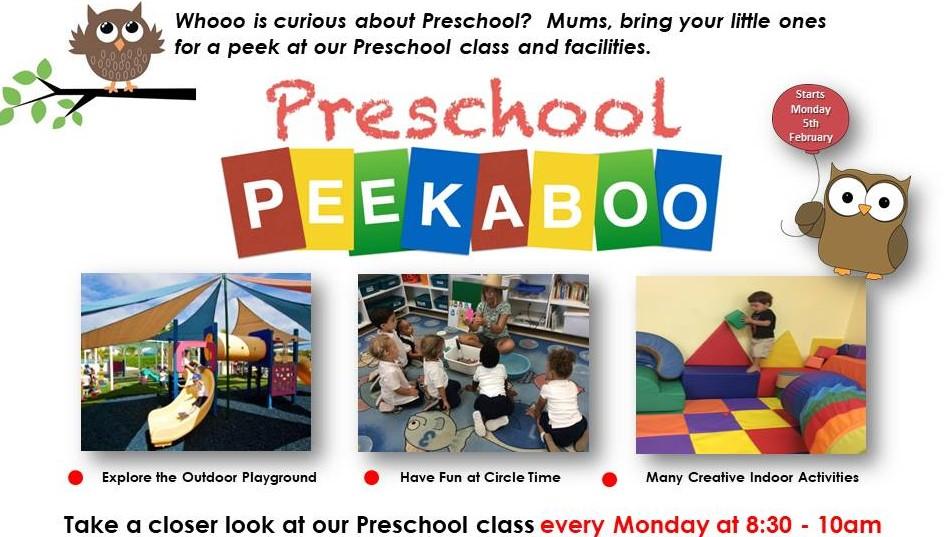 ISTCI Preschool Peekaboo Flyer