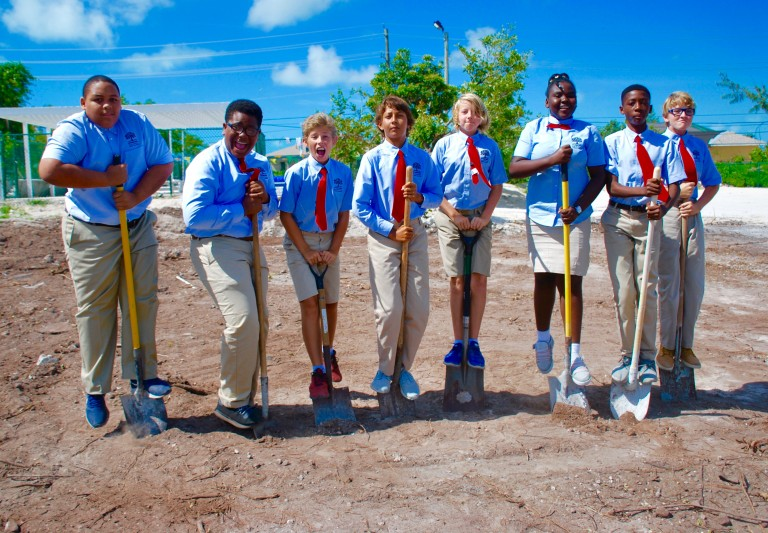 Middle School in TCI