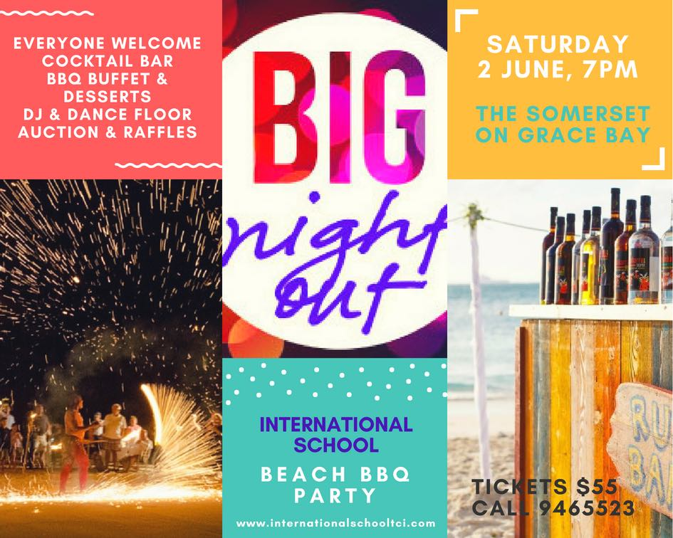 BIG NIGHT OUT ISTCI BEACH BBQ