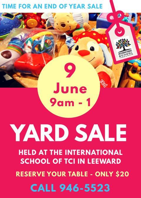 International School TCI Yard Sale