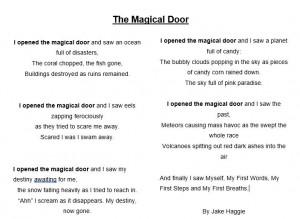 Jake's Poem
