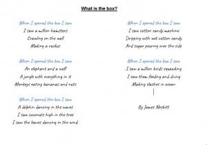 James' Poem