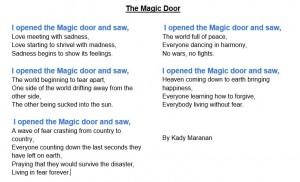Kady's Poem